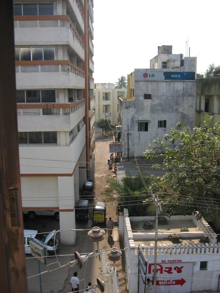 Näkymia hotelli Chandal Mahalin ikkunasta