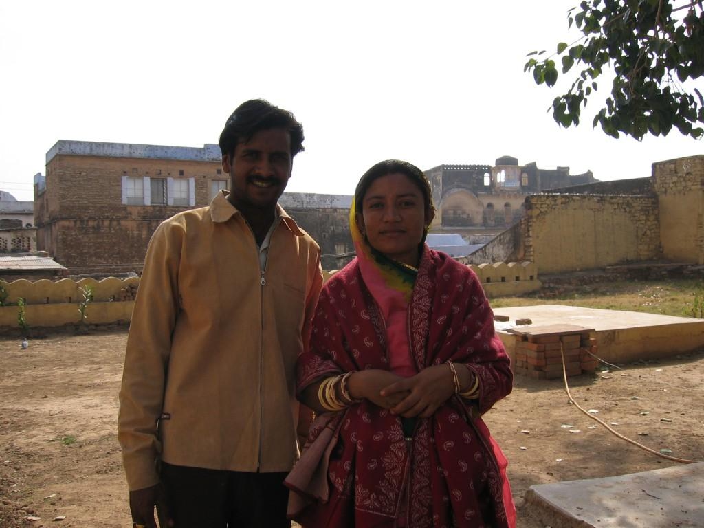 Raj ja Neema - paikan isännät
