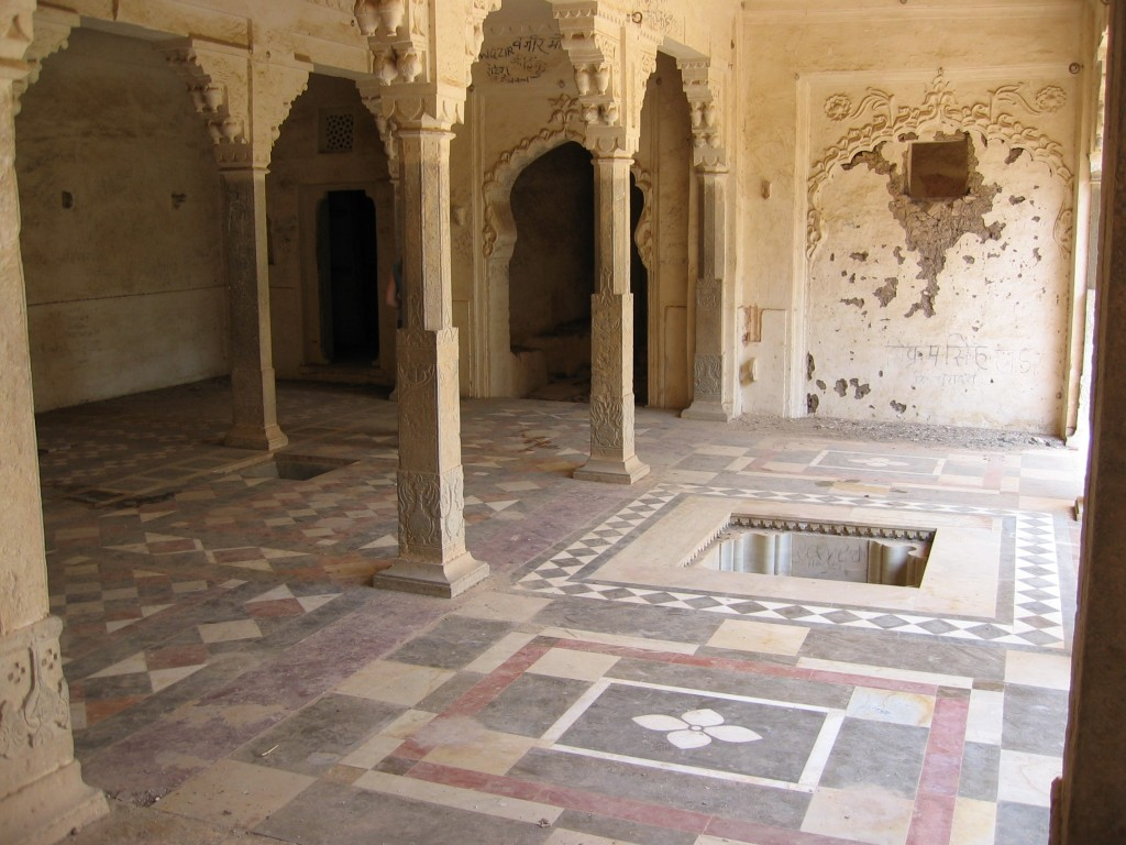 Bundin palatsin sisällä on tämännäköistä