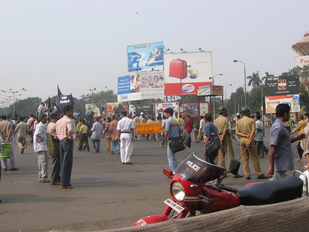 Tämmöistä siellä Kalkutassa olis ollu
