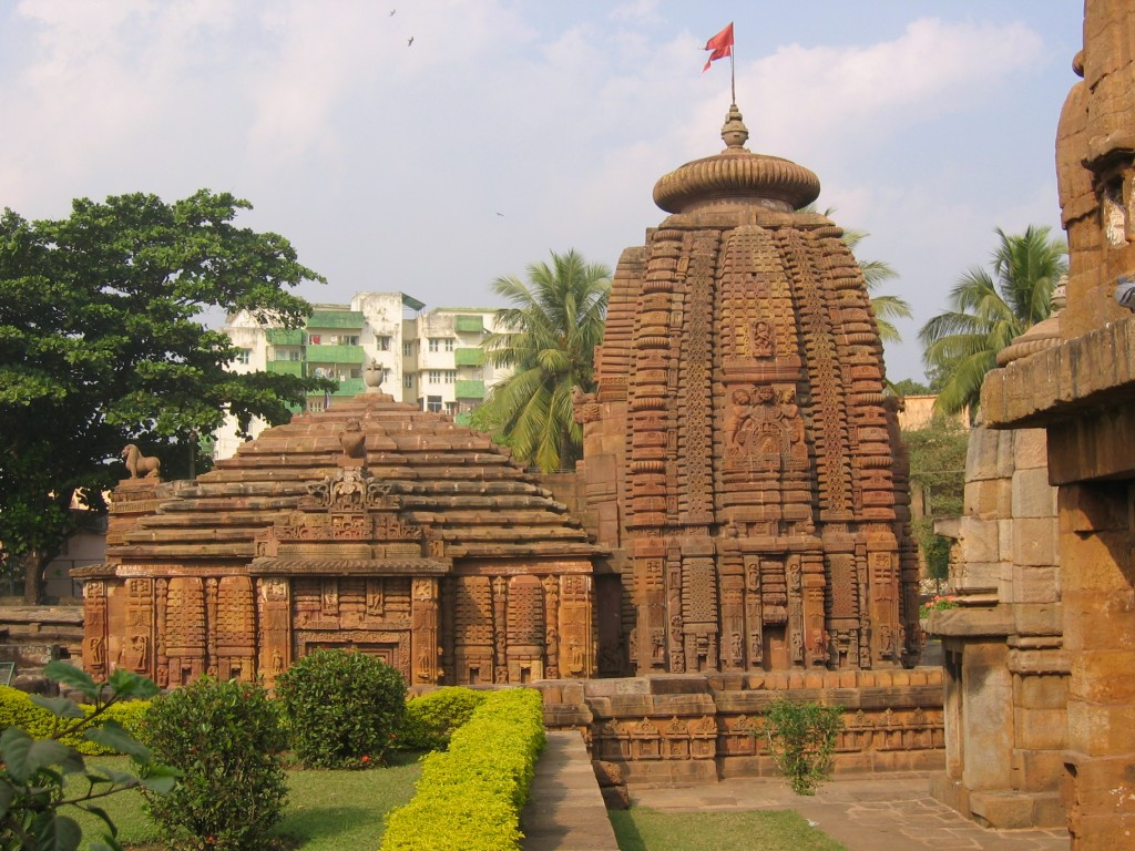 Bhubaneswarin temppeleitä