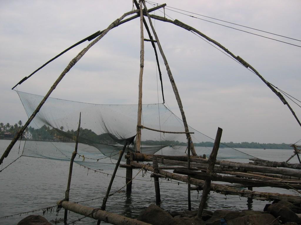 Kiinalaiset kalaverkot on must juttu täällä