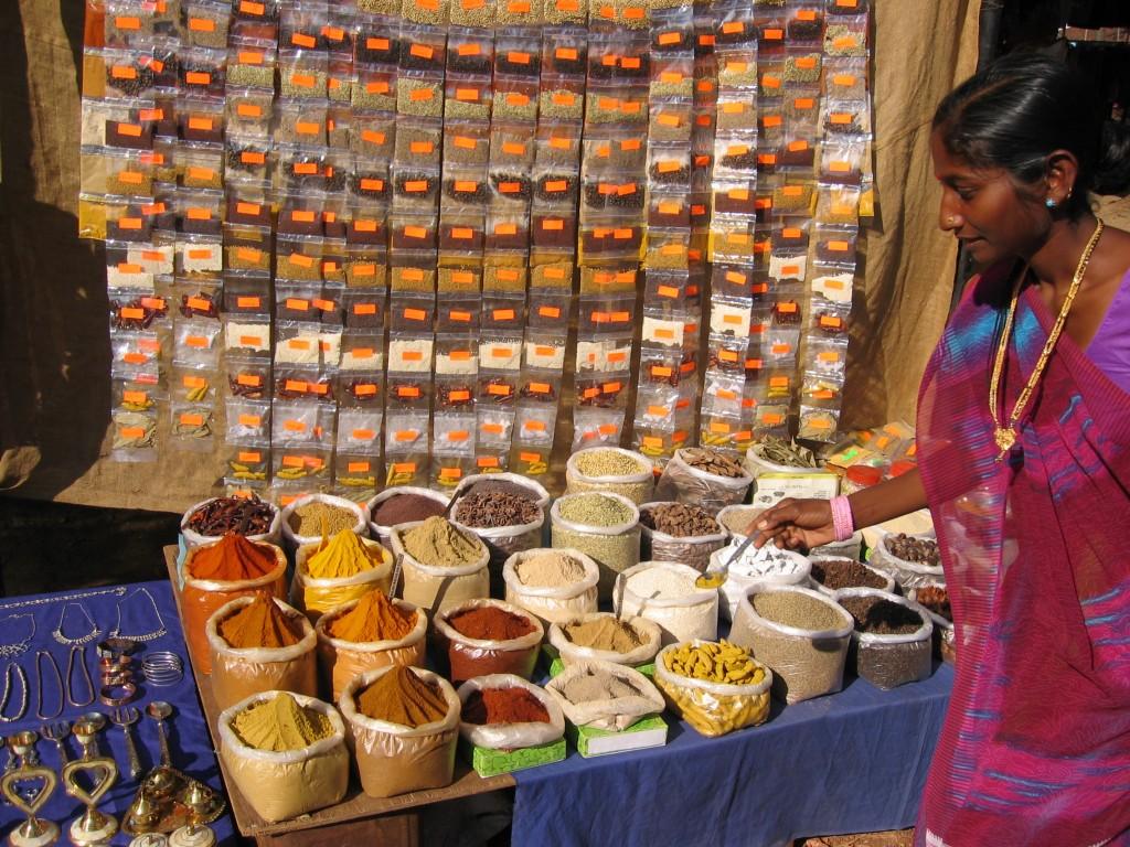 Keskiviikkomarkkinoilta sai mausteita