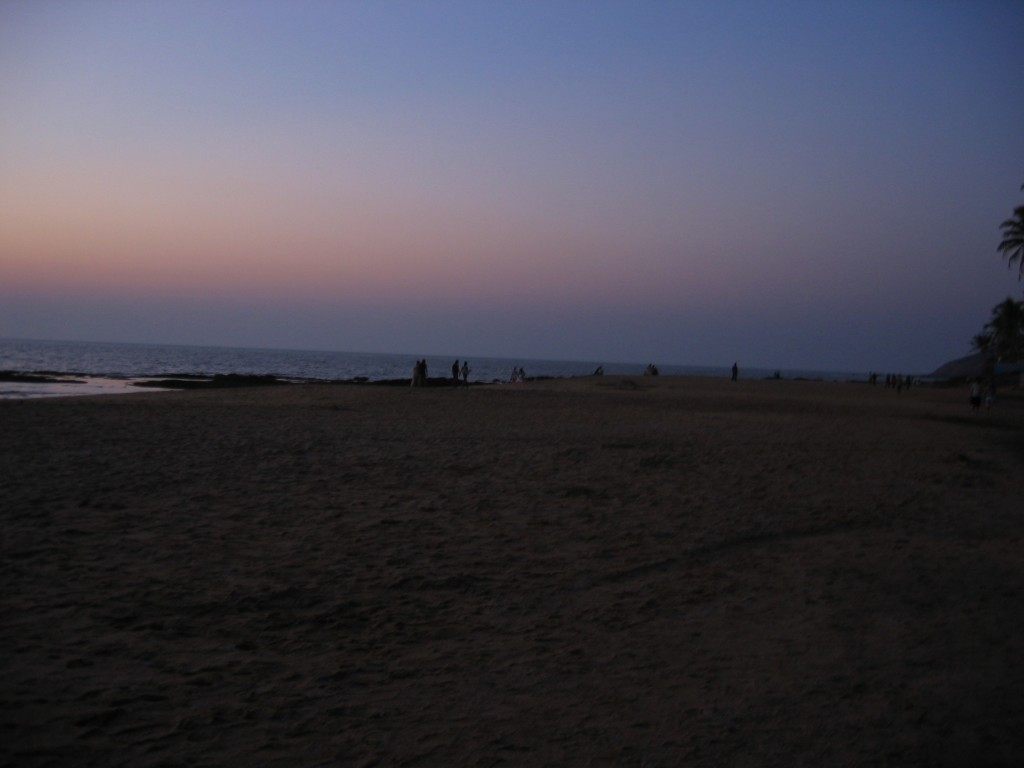 Iltamenot rannalla eivät olleet huikeita