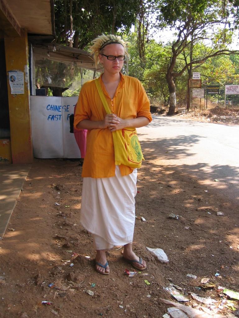 Ihka aito Goan kävijä