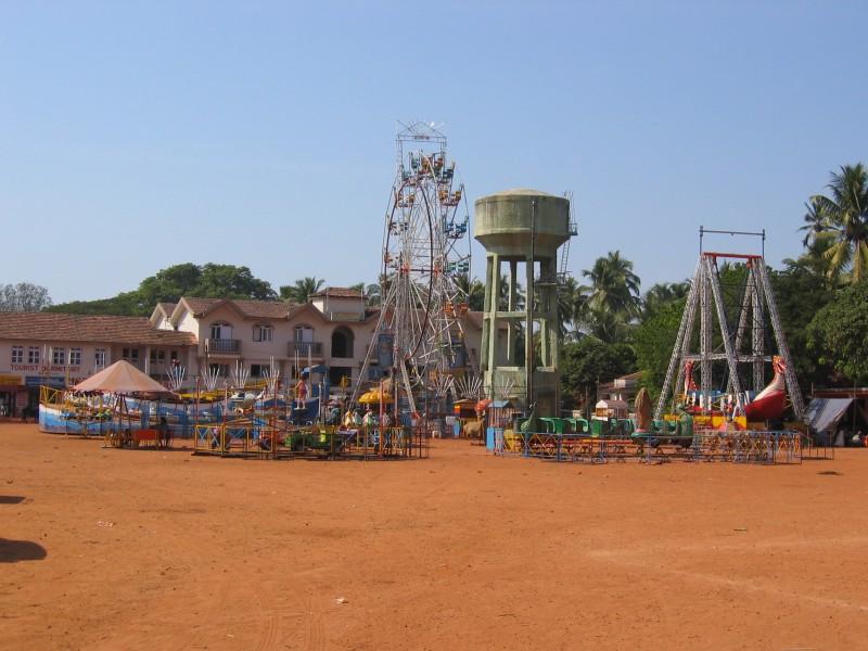 Pieni intialainen huvipuisto