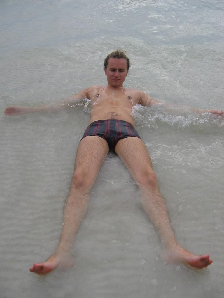 Vesi oli lämmintä