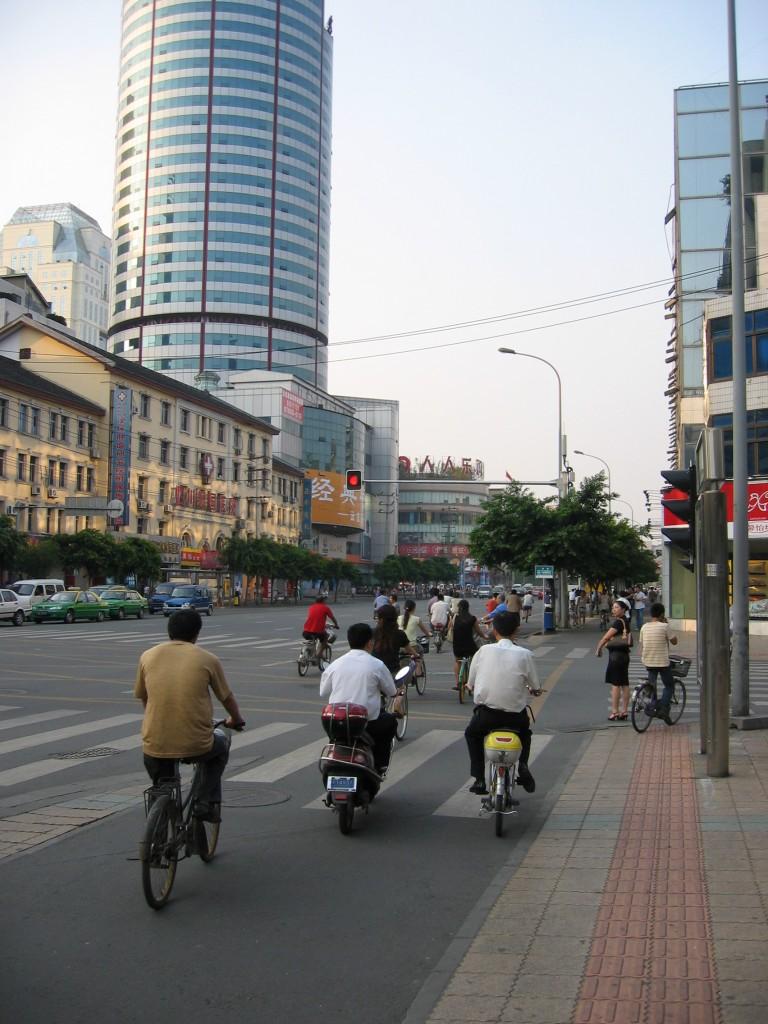 Välillä Chengdussa on tällaista