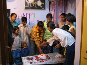 Birthday party at Bundi