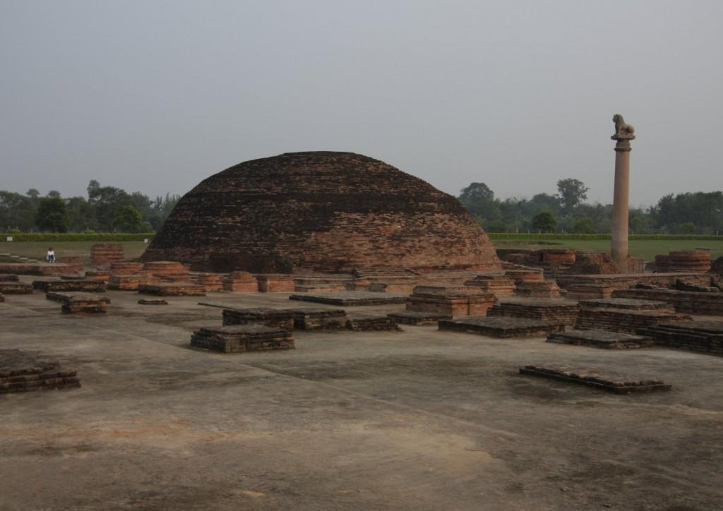 Ashoka stupa Vaishalissa