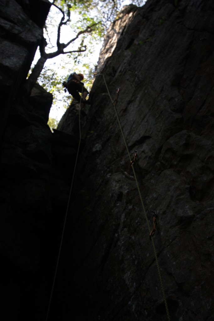 Kiipeilyä Sabie Gorgessa