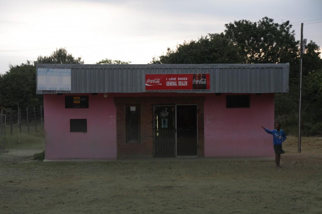 Sodwana Bayn lähellä oli myös tämmöinen kauppa