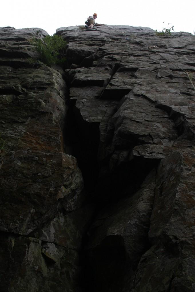 Kloofin kalliossa oli enemmän mistä pitää kiinni