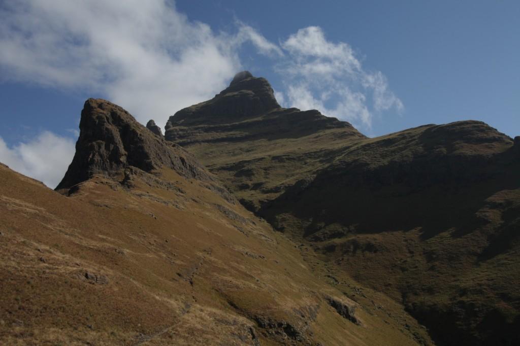 Cathedral Peak näyttäytyi sittenkin
