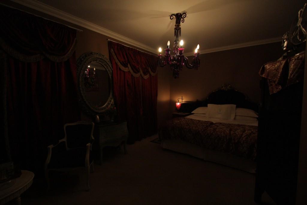 Vaatimaton makuuhuoneemme