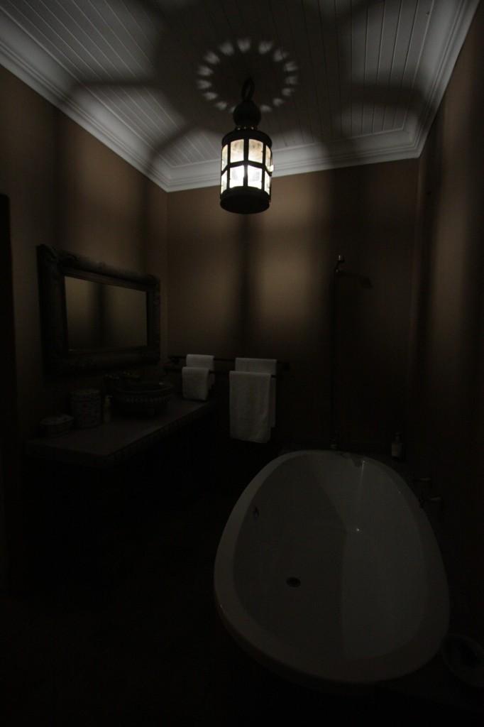 Hulppea kylpyhuoneemme