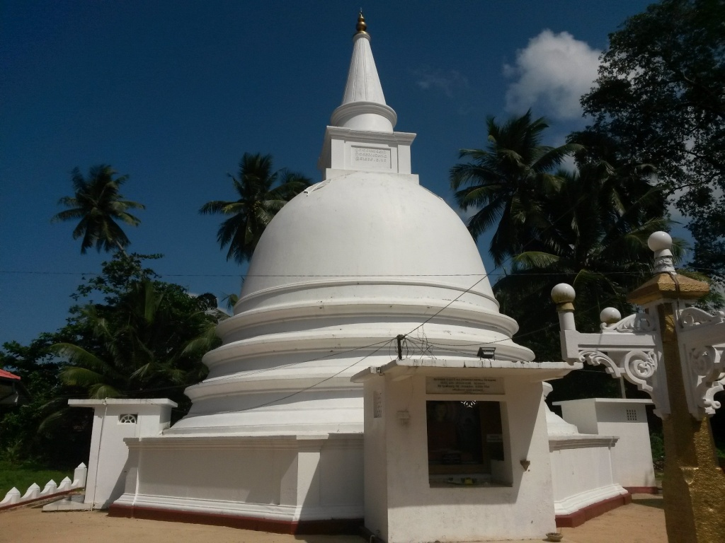 Another fine stupa encountered during our adevntures