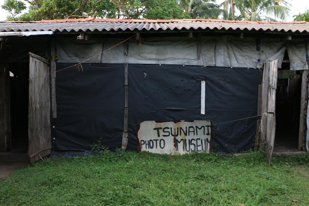 Tsunami photo museum in Telwatta village
