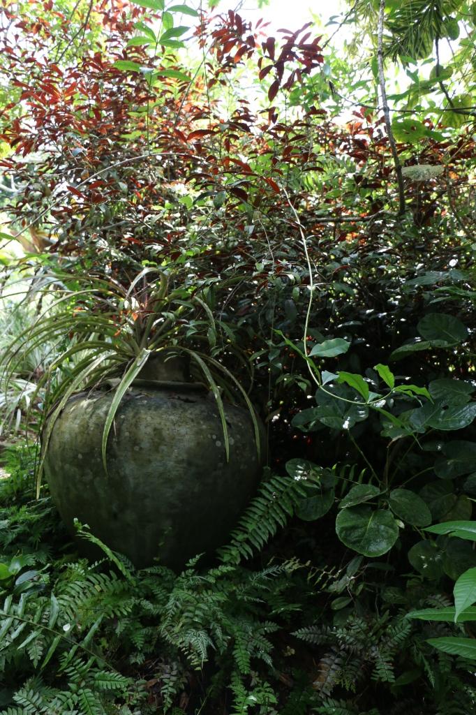 ... flower pots ...