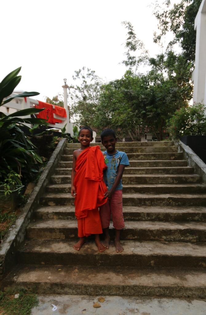 Bye-bye little monks