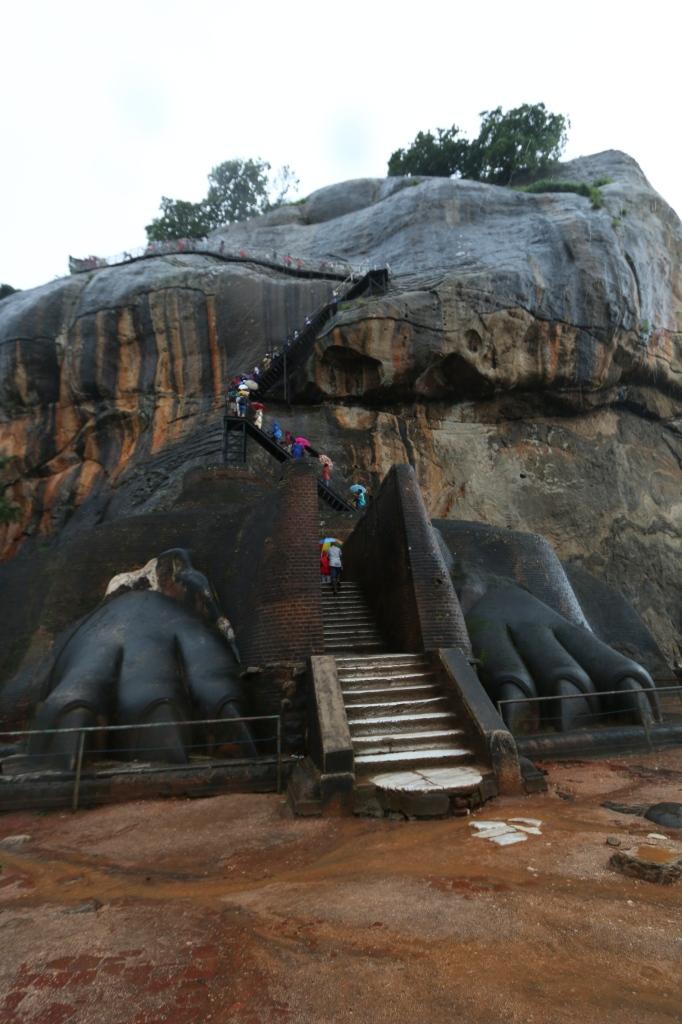 The famous Lion Gate